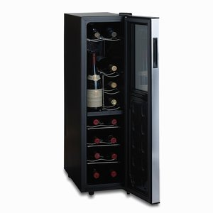 Wine Enthusiast Silent 18 Bottle Wine Refrigerator