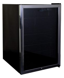Haier HBCN05FVS 150-Can Beverage Center with Lock