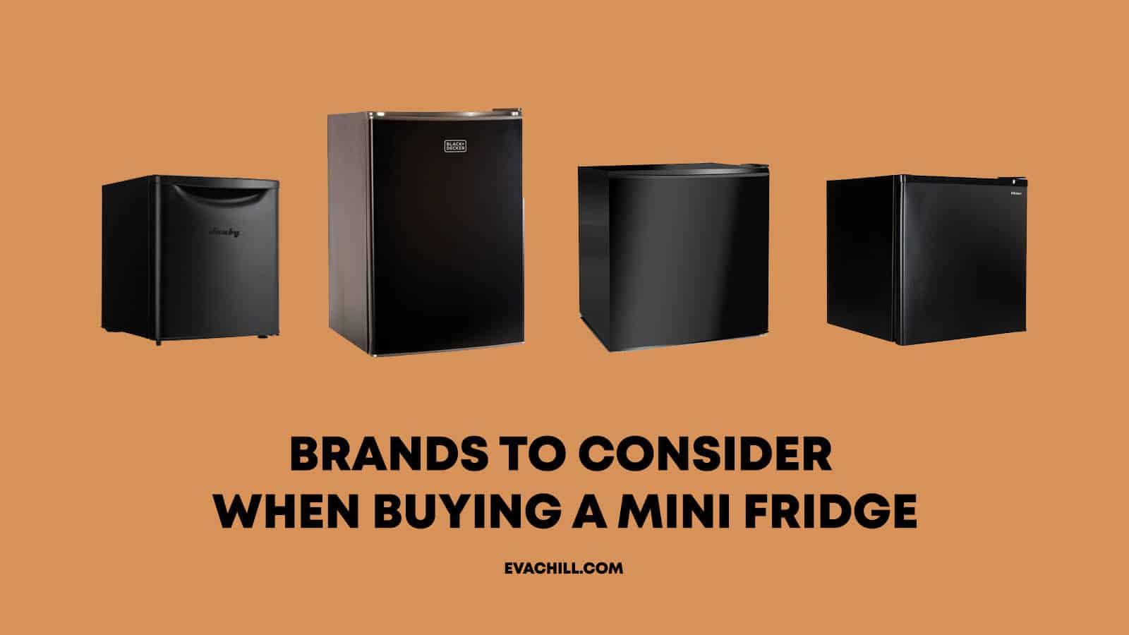Best Mini Fridge Brands
