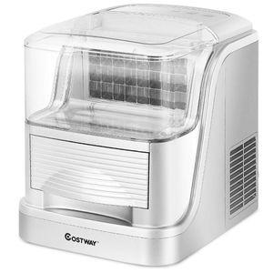 COSTWAY Portable Clear Ice Maker