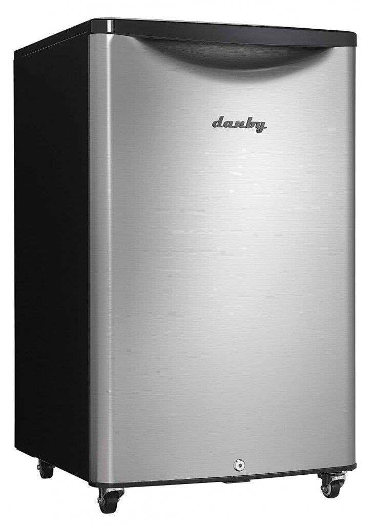 Danby DAR044A6BSLDBO 4.4 cu. ft. Outdoor Compact Refrigerator