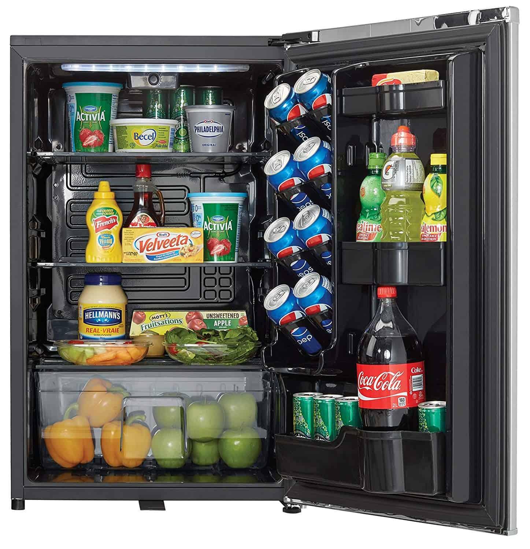 Danby DAR044A6DDB 4.4 cu. ft. Silver Steel Large Compact Refrigerator