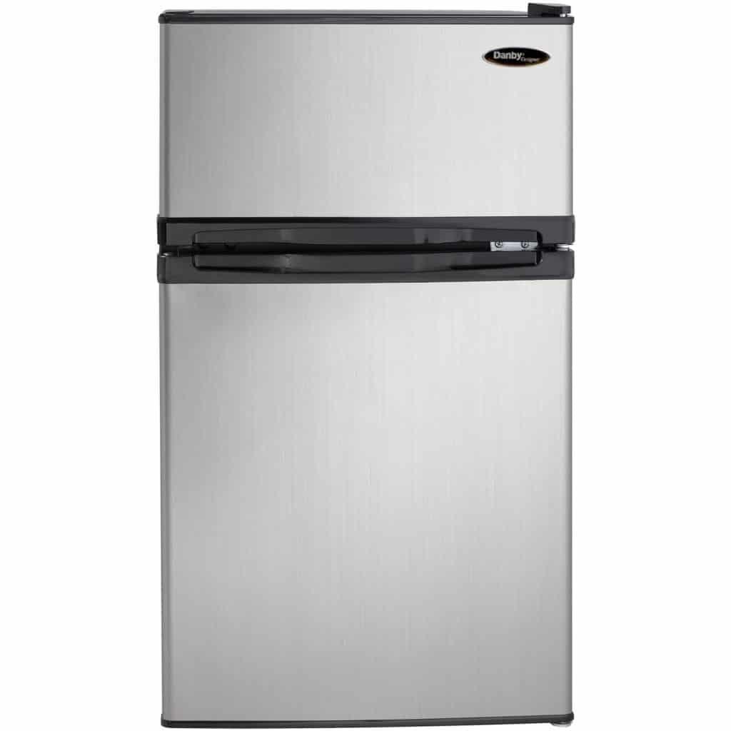Danby DCR031B1BSLDD 3.1 cu. ft. 2 Door Compact Refrigerator