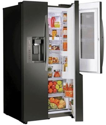 LG LSXC22396D Refrigerator